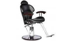 Reclining Black Hydraulic Multi-Purpose Styling Chair Salon Equipment MP-30 BLK