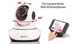 Shragis, Wireless Wi-Fi IP Camera. Motion Detection Alert, Night Vision, Support Android/iOS/iPhone/iPad/Tablet