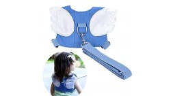 Baby Safety walking Harness-Child Toddler Anti-lost Belt Harness Reins with Leash Kids Assistant Strap Angel Wings Travel Backpa