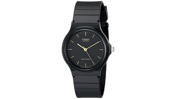 Casio Men s MQ24-1E Black Resin Watch