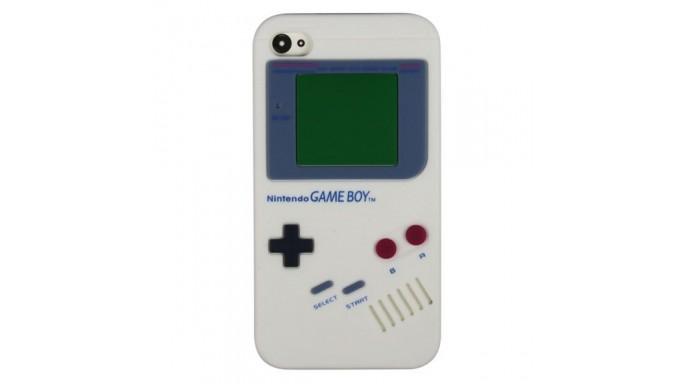 Estuche Game Boy Silicón iPhone 4/S