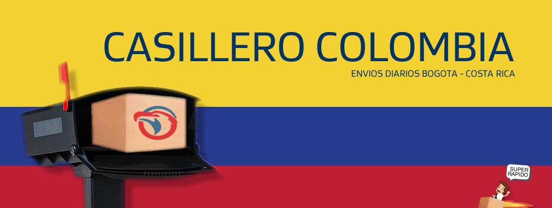 Casillero Colombia Costa Rica